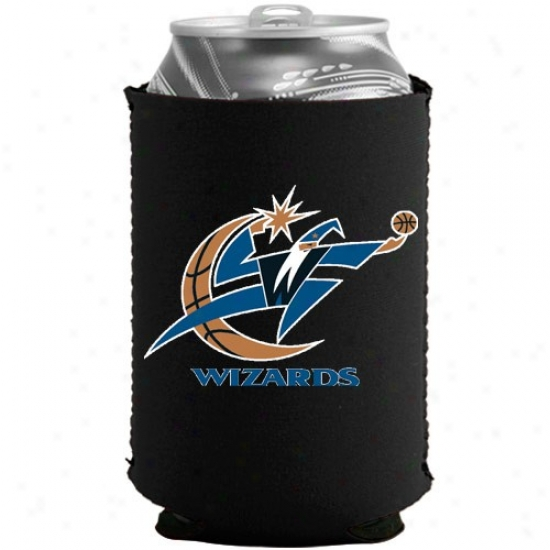 Washington Wizards Black Collapsible Can Coolie