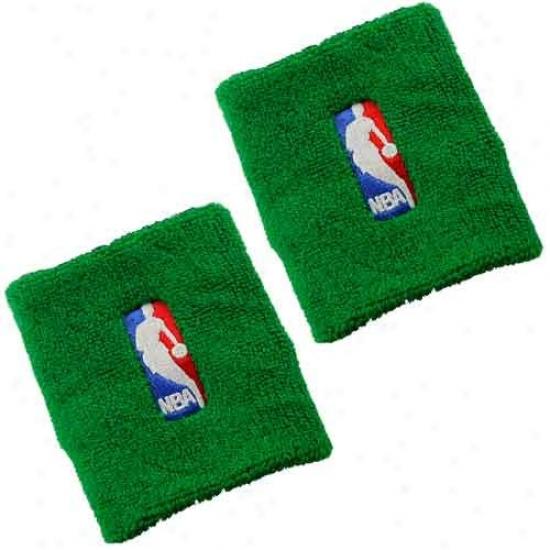 Washington Wizards Cap : Greeen Logoman Nba Wristbands