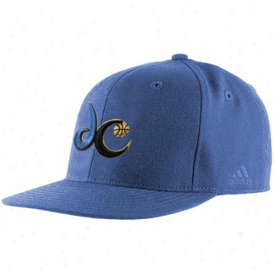 Washington Wizards Hat : Adidas Washington Wizards Light Blue Basic Logo Fitted Cardinal's office
