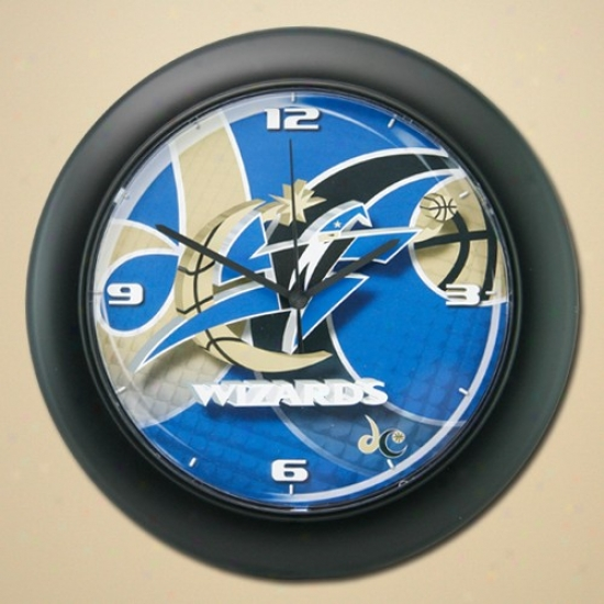 Washington Wizards High Definition Wall Clock