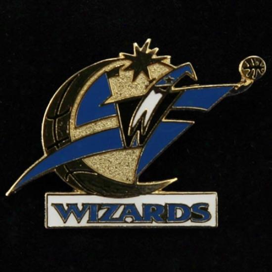 Washington Wizrads Merchandise: Washington Wizards Team Logo Pin