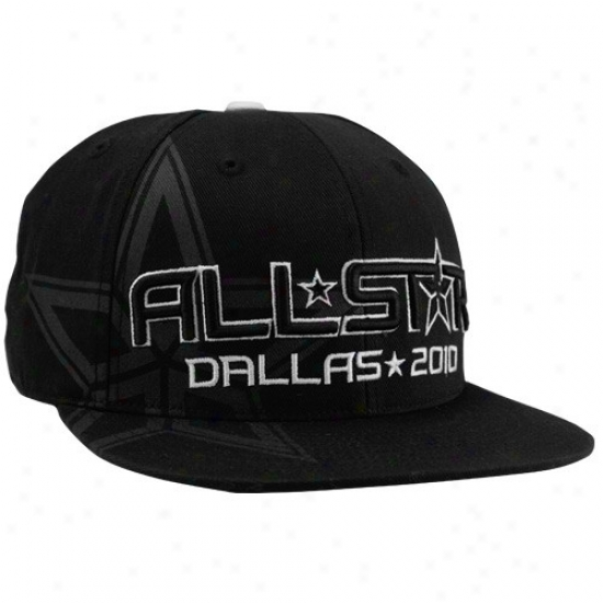 Wizards Cap : Adidas 2010 Nb All-star Game Negro Fashion Fitted Cap