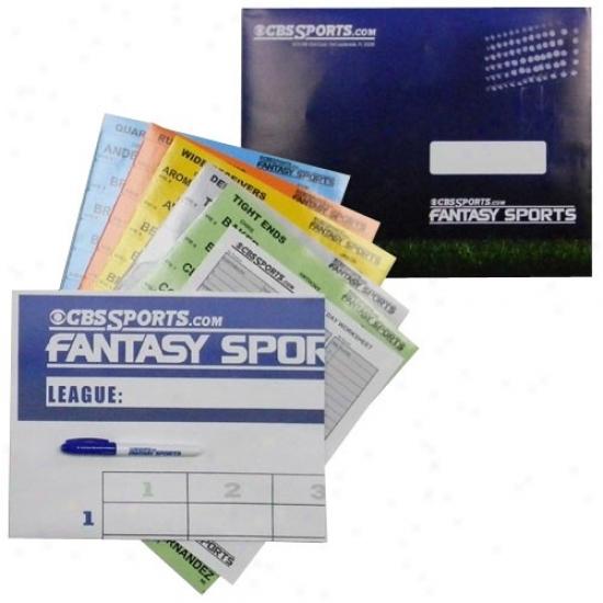 2010 Fantasy Football Cbssports.com Draft Kit