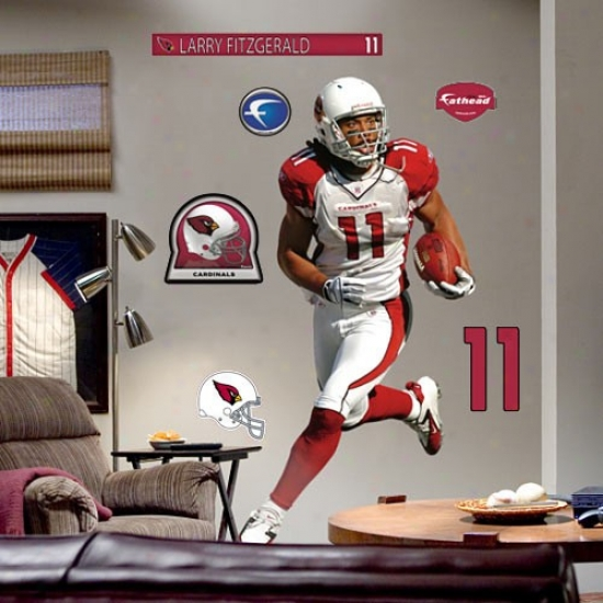 Arizona Cardinals #11 Larry Fitzgerald Player Fathead
