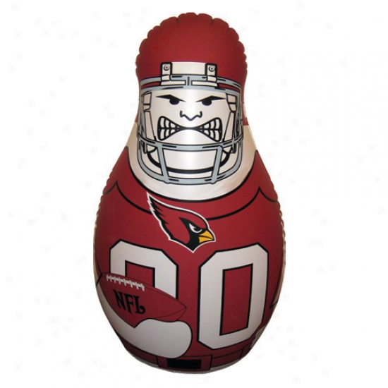 Arizona Cardinals 40'' Inflatable Tackle Buddy Punching Bag