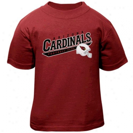 Arizona Cardinals Apparel: Reebok Arizona Cardinals Toddler Cardinal The Call Is Tails T-shirt