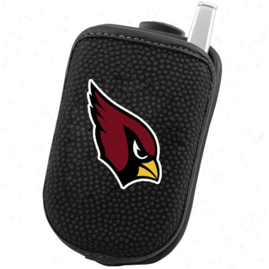 Arizona Carinals Black Team Logo Swivel Cellphone Case