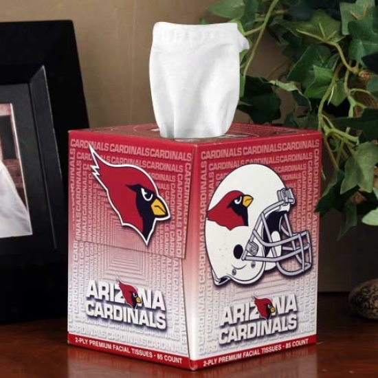 Arizona Cardinals Box Of Sports Tissues