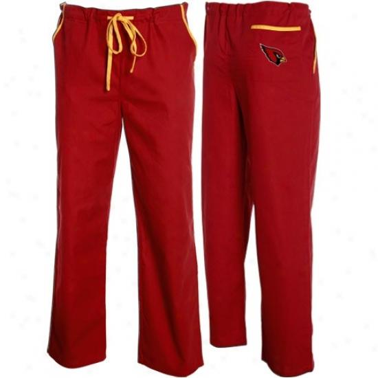Arizona Cardinals Cardinal Red Scrub Pants