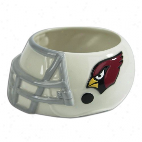 Arizona Cardinals Ceramic Helmet Bowl