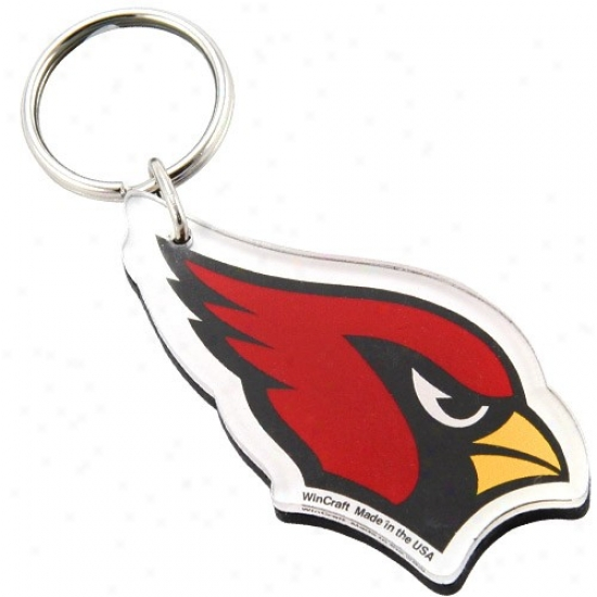 Arizona Cardinals High Definition Logo Keychain