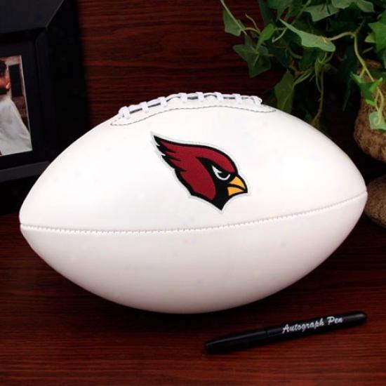 Arizona Cardinals Official Full Size Autograph Football