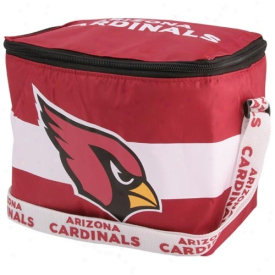 Arizona Cardinals Re dInsulated Lunch Bag