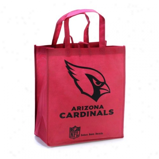 Arizona Cardonals Red Reusable Tote Bag