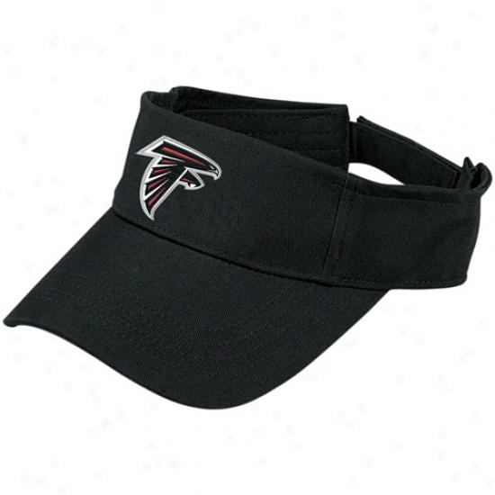 Atlanta Falcon Cap : Reebokk Atlanta Falcon Black Fan Wear Visor