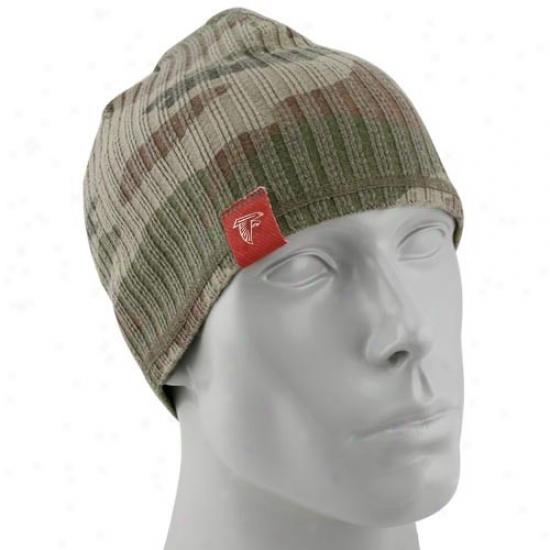 Atlanta Falcon Hat : Reebok Atlanta Falcon Camouflage Lifestyle Knit Beanie