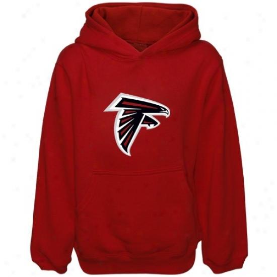 Atlanta Falcon Sweatsgirts : Reebok Atlanta Falcon Preschool Red Primary Logo Sweatshirts