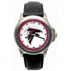 Atkanta Falcon Watch : Atlanta Falcon Rookie Watch W/leather Band