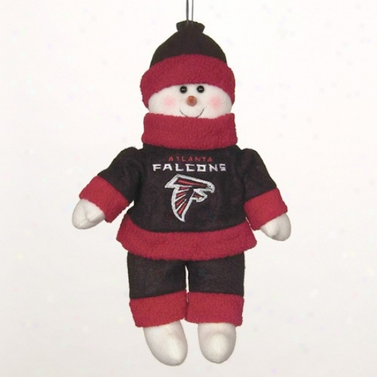 Atlanta Falcons 10-inch Snowflake Friend Plush
