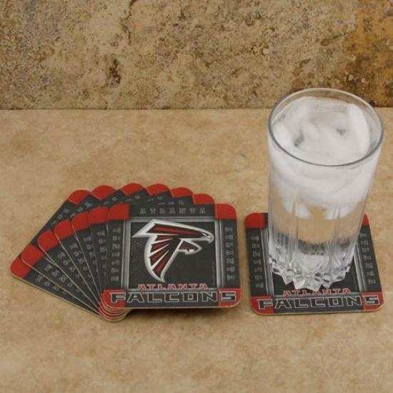 Atlanta Falcons 8-pack Absorbent Paperkraft Coasters