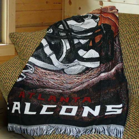 Atlanta Falcons Acrylic Tapestry Throw Blankrt