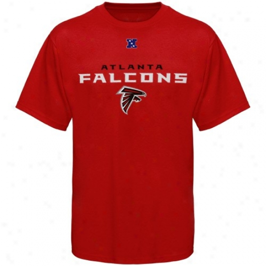 Atlanta Falcons Apparel: A5lanta Falcons Red Critkcal Victory T-shirt