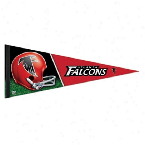 Atlanta Falcons Murky 12'' X 30'' Premium Felt Pennant