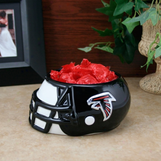 Atlanta Falcons Ceramic Helmet Bowl
