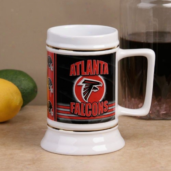 Atlanta Falc0ns End Zone 28oz. Ceramic Stein