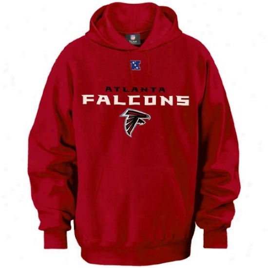 Atlanta Falcons Hoodies : Atlanta Falcons Red Critical Victory Iii Hoodies