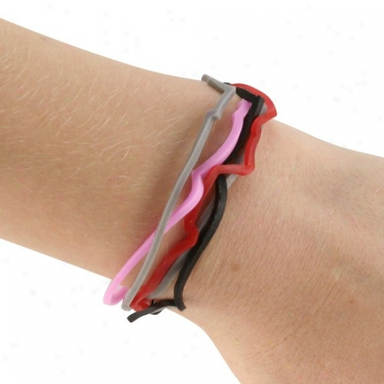 Alanta Falcons Logo Bandz Bracelets