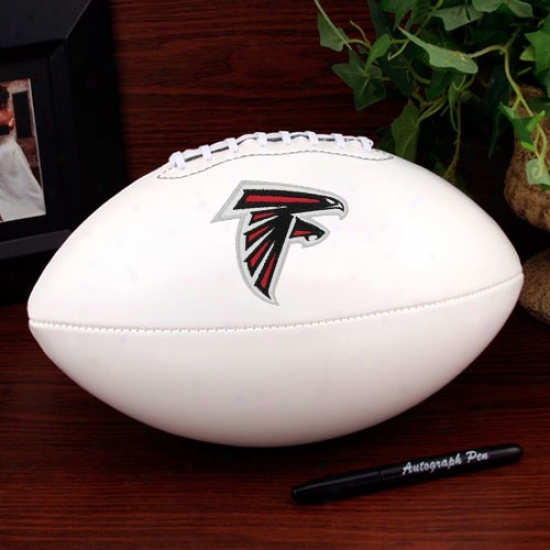 Atlanta Falcons Authoritative Full Size Autograph Football