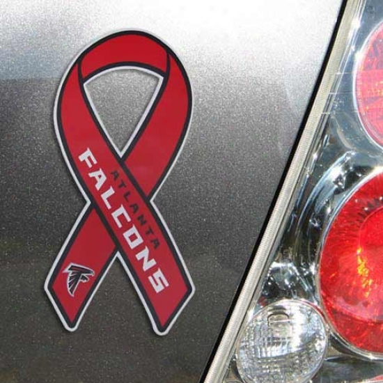 Atlanta Falcons Ribbon Magnet
