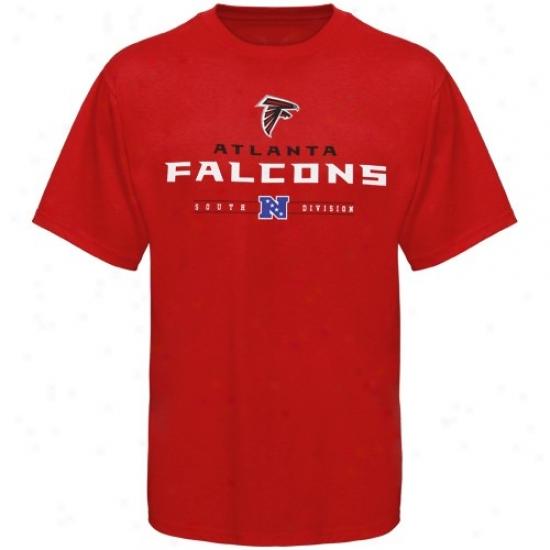 Atlanta Falcons Shirts : Atlanta Falcons Red Critical Victory Shirts
