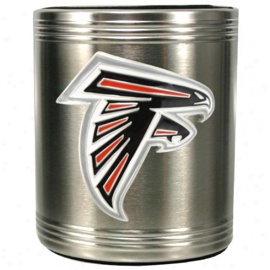 Atlanta Falcons Stainless Steel Can Cooler