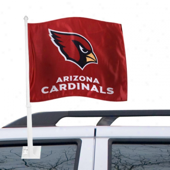 Az Cardinal Flag : Az Cardinal Ree Car Flag