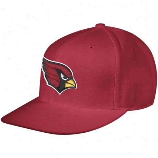 Az Cardinal Hats : Reebok Az Cardinal Cardinal Sideline Plain Bill Fitted Hats