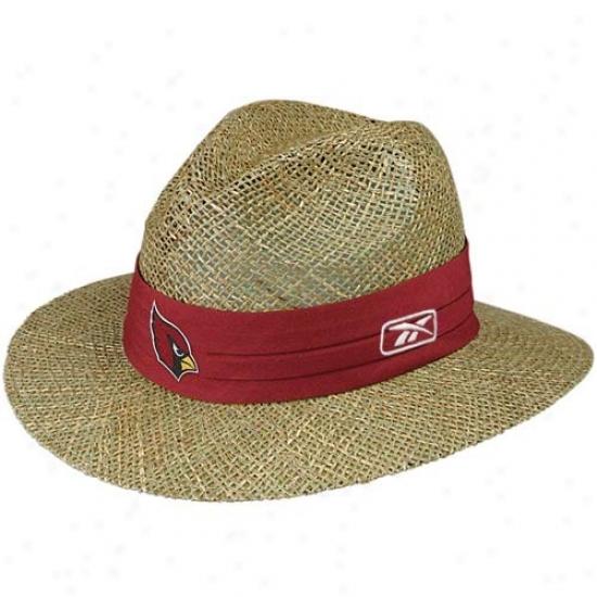 Az Cardinal Hats : Reebok Az Cardinal Training En~ Straw Hats