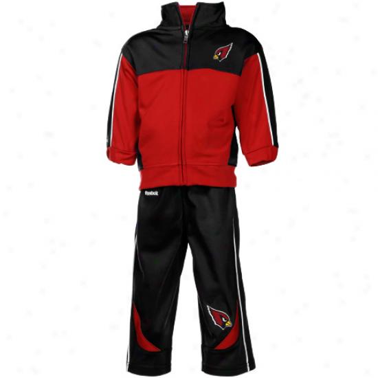 Az Cardinal Hoodie : Reebok Az Cardinal Infant Cardinal-black Full Zip Jacket & Pants Set