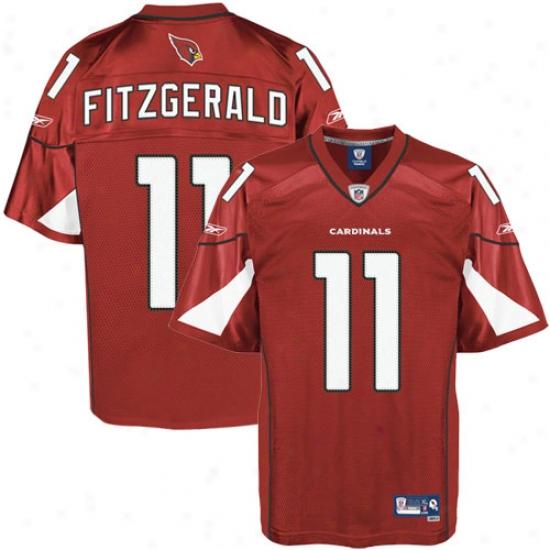 0c782ba3580 Az Cardinal Jersey : Reebok Nfl Equipment Az Cardinal #11 Larry Fitzgerald  Youth Cardinal Youth