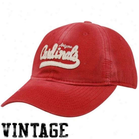 Az Cardinal Merchandise: Reebok Az Cardinal Ladies Cardinal Retro Slouch Adjustable Hat
