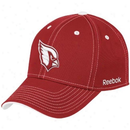 Az Cardinals Hat : Reebok Az CardinalsR ed Tonal Team Logo Flex Fit Hat