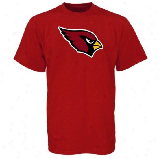 Az Cardinals Shirt : Reebok Az Cardinals Red Youth Primary Logo Shirt