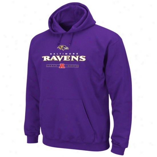 Baltimore Black Hoodies : Baltimore Raven Purple Critical Victory Iv Hoodies