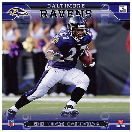 Baltimore Ravens 2011 Wall Caendar
