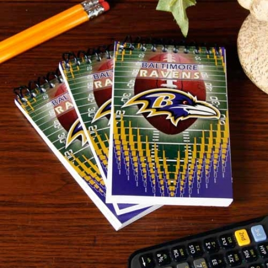 Baltimore Ravens 3-pack Memo Books