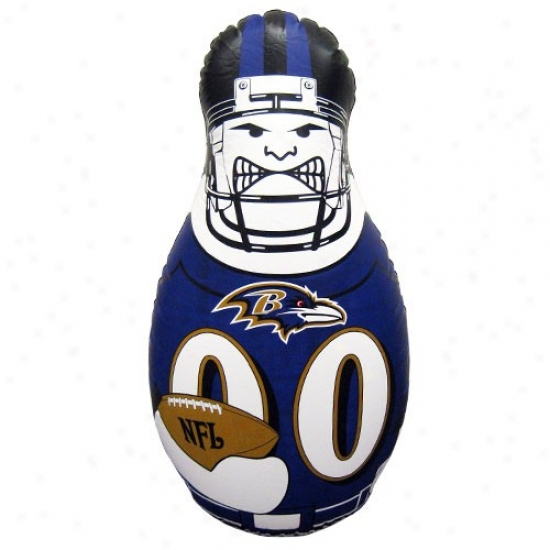 Baltimore Ravens 40'' Inflatable Tackle Buddy Punching Bag