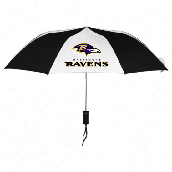 Baltimore Ravens 42'' Folding Umbrella