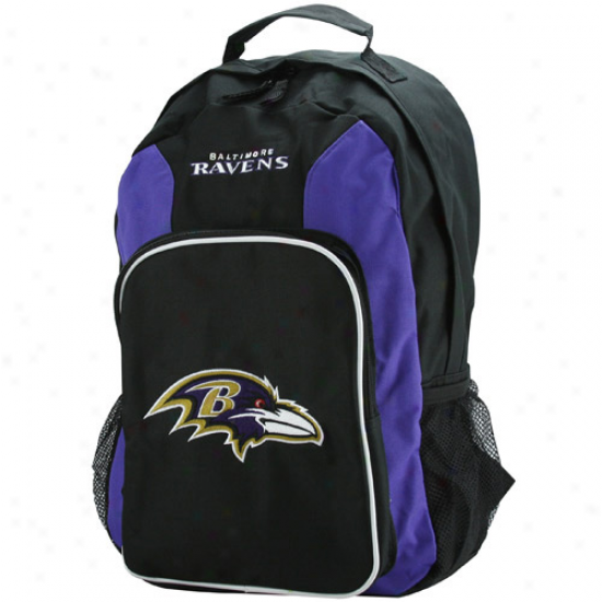 Baltimore Ravens Black-purple Southpaw Backpack