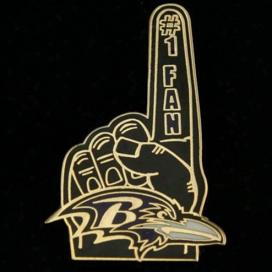 Baltijore Ravens Cap : Baltimore Ravens #1 Fan Shut up